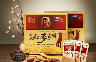 """Nước hồng sâm Pocheon 80ml – Sản phẩm """"vàng"""" cho sức khoẻ"""