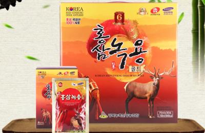 Nước hồng sâm nhung hươu Hàn Quốc – Bí quyết sống khoẻ của xứ Kim Chi