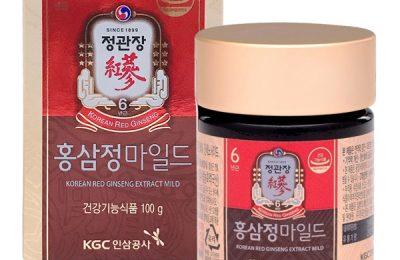 Tinh chất hồng sâm KGC ngăn ngừa xơ vữa động mạch ở người già