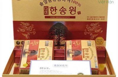 [Đánh giá người dùng] Tinh dầu thông đỏ Dami Hansongwon 120 viên