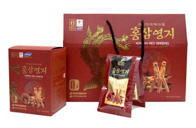 Nước hồng sâm linh chi Pocheon – Top sản phẩm được tin dùng