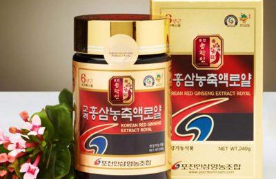 3 sai lầm khi dùng cao hồng sâm Hàn Quốc 240g Pocheon