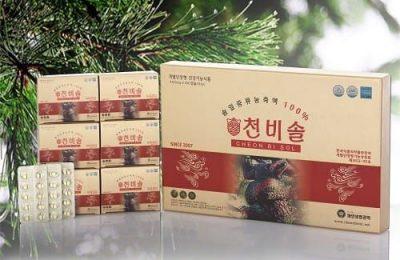 Top 2 sản phẩm cao cấp nhất: Tinh dầu thông đỏ Cheon Bi Sol