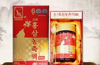 """Cao hồng sâm Hàn Quốc KGS 240g – Sản phẩm """"Vàng mười"""" cho sức khoẻ"""