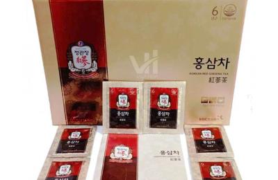 Trà hồng sâm Hàn Quốc KGC 100 gói – Phái đẹp ưa chuộng