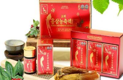 Vì sao gia đình Việt nên mua cao hồng sâm KGS 50g x 3lọ?